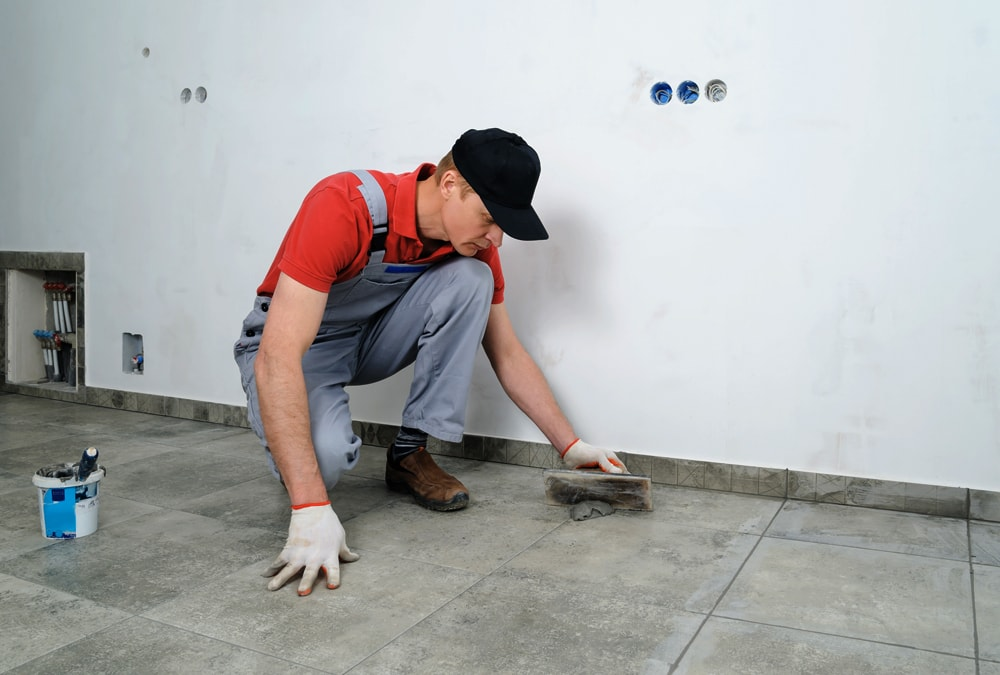 grout to soften