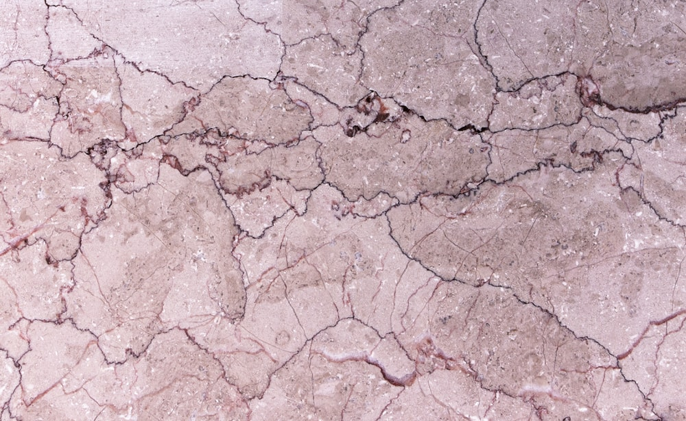 grout crack